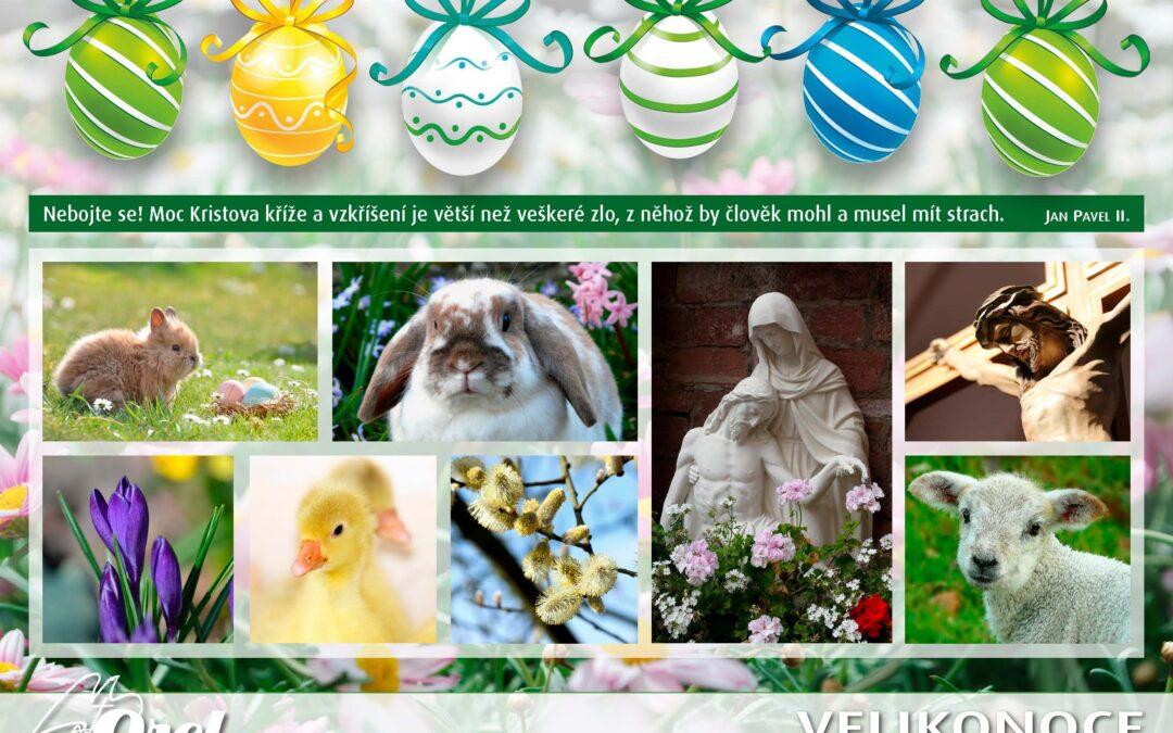 Přejeme požehnané Velikonoce!